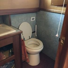 Wheelhouse Toilet