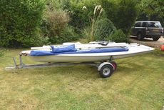 Laser XD dinghy excellent ALL kit, brand new unused sail