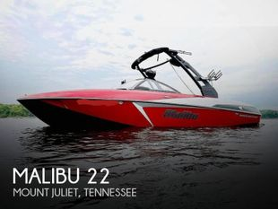 2017 Malibu VLX 22 Wakesetter