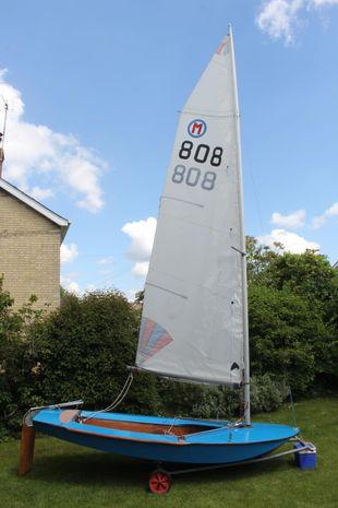 British Moth Sailing Dinghy number 808