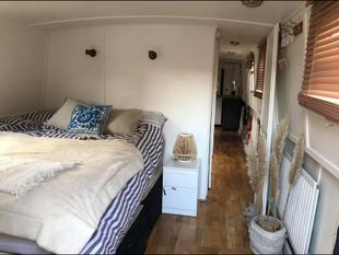 Two bedroom widebeam boat in London
