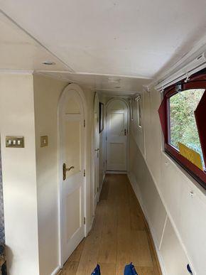Passageway to ensuites