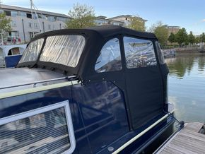 Custom stern cover made by Titan canopies