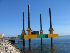 Jack Up Barges available for charter