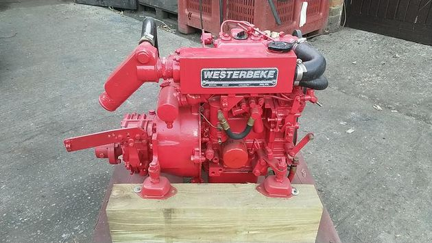 Westerbeke 12B 12hp Marine Diesel Engine Package