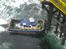 Windfarm catamaran