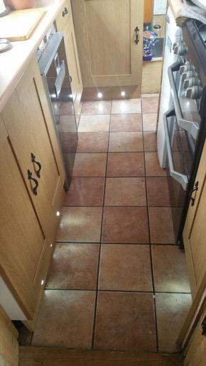 Kitchen, double oven, dual voltage fridge