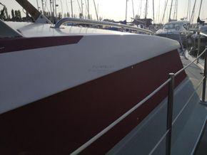 Coronet 32 Oceanfarer  - Side Deck
