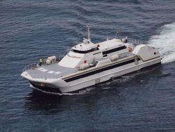 AIR CUSHION PASSENGER SHIP