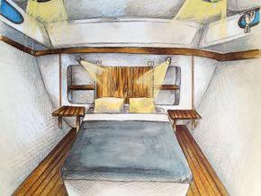 Nicols Estivale Quattro pre purchase survey available - Forward Cabin
