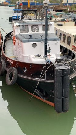 small tug – comes with plough and A-frame