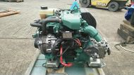 Volvo Penta D1-13B 13hp Marine Diesel Engine Package