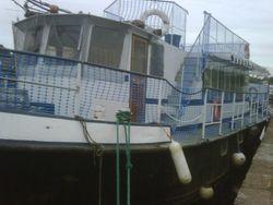 spacious light ex water tanker, 9 berth