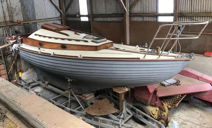 Classic Nordic Folkboat clinker, Cyril White