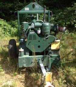 """2003 Pioneer 8"""" Diesel Powered Pump"""