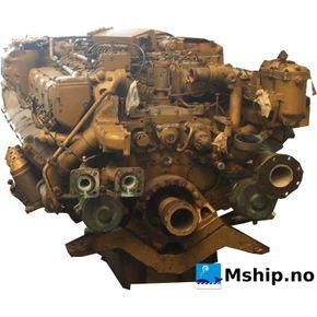 MTU 8V 396 TB84 Marine Diesel 672 kW.
