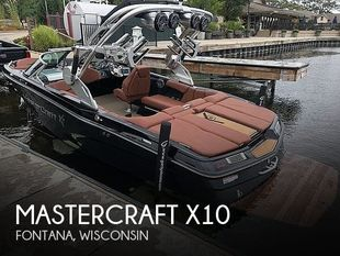 2017 Mastercraft X10