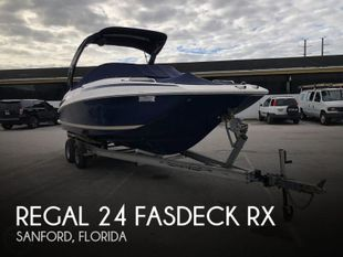 2013 Regal 24 Fasdeck