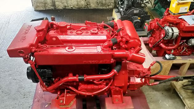 Iveco 8041 M09 95hp Marine Diesel Engine Package