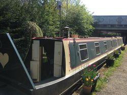 69' narrowboat with London mooring