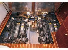 Viking Viki 34 Aft Cabin Engine Compartment
