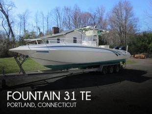 1999 Fountain 31 TE