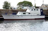 15m  Joyce Marine TSDMY Built 1966 ( Live aboard )