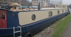 Liveaboard 75 feet Dutch Barge