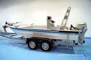 SwissCat 18 by Lehmar, with Honda 40HP Fourstroke (Power Catamaran)