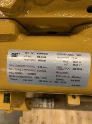 CAT 3412 650 HP / 584 KW @ 1800 RPM