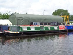 52ft Trad Stern Narrowboat built 1992 by Pickwell & Arnold boats