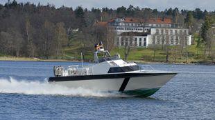 Fast patrol boat 40 knots. Marlin.