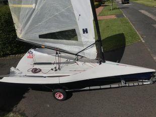 RS 300 racing dinghy