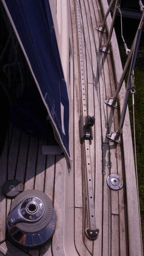 sidedeck , track and gate