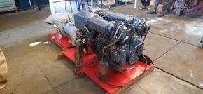 Yanmar 4LH-DTE marine engine with Jet