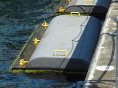 6 x 2.6m Steel Pontoons (14 available)