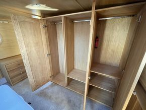 Triple fitted wardrobe