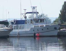 1968 36' Twin Screw Trawler - Needs Some Work