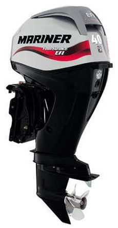 40HP Outboard Electric Start Long Shaft Power Trim
