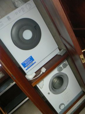 WASHER AND TUMBLE DRYER