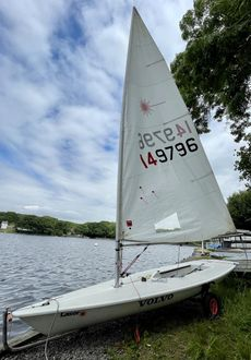 Laser 1 Dinghy (full rig) Sail No 149796