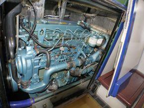 Port side of engine
