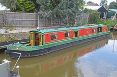 58ft Cruiser Stern Narrowboat