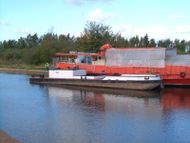 Unconverted ex dredger