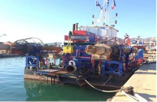 32mtr Cutter Suction Dredge