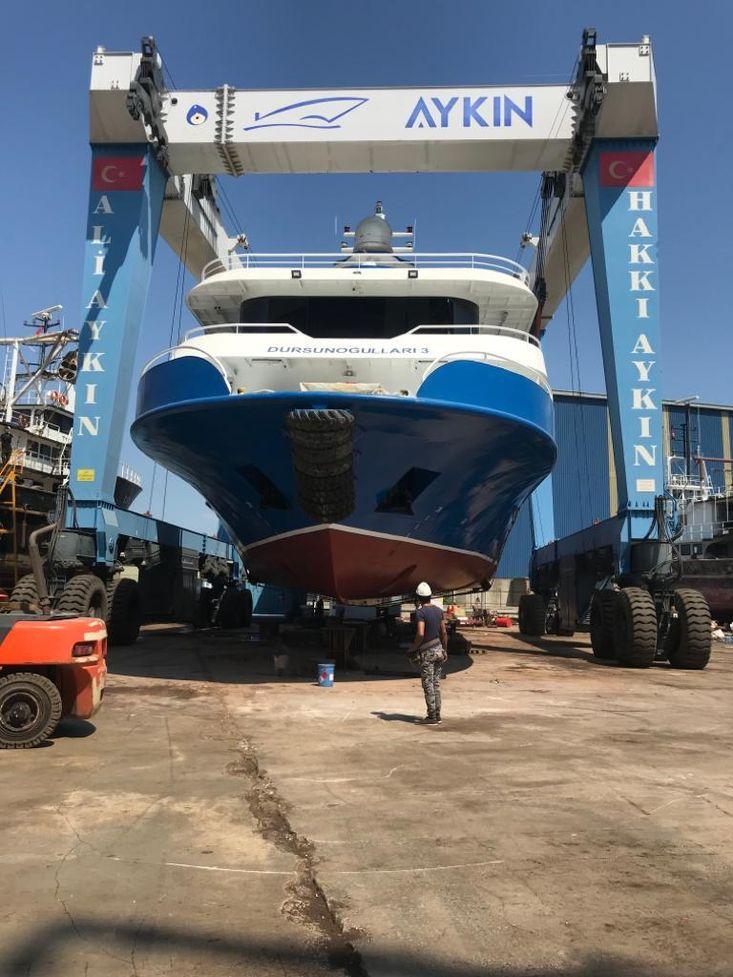700 pax,40m loa, triple decker,IACS classed,newbuilding