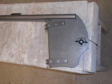 Brand new Laser Vago rudder blade and stock/tiller