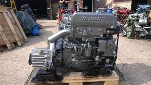 Yanmar 3GM30F Marine Diesel Engine Breaking For Spares