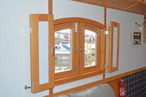 Glazed side doors