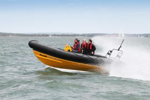 Halmatic Pacific 22 Rib - recent refit